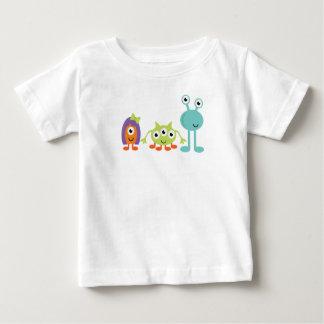 Space Aliens Baby Fine Jersey T-Shirt