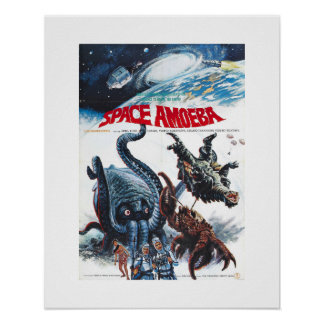 Space Amoeba Poster