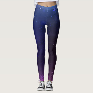 Space And Galaxy Leggings