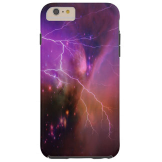 Space and Lightning Tough iPhone 6 Plus Case