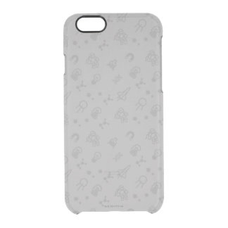 Space And Science Doodles Clear iPhone 6/6S Case