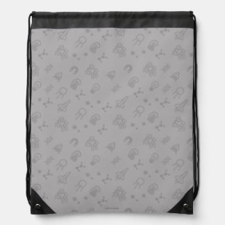 Space And Science Doodles Drawstring Bag