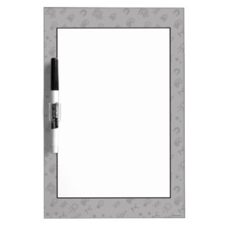 Space And Science Doodles Dry Erase Whiteboards
