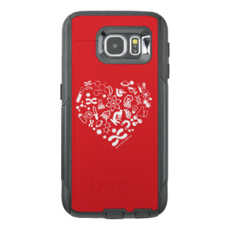 Space And Science Heart OtterBox Samsung Galaxy S6 Case