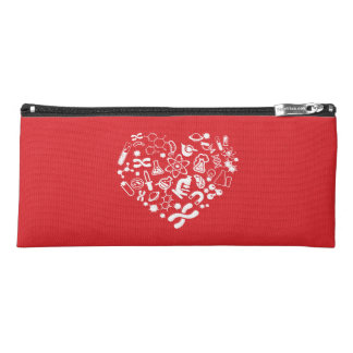 Space And Science Heart Pencil Case