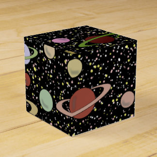 SPACE AND STARS by Jetpackcorps Favor Box