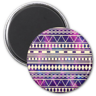 Space andes aztec 2 inch round magnet