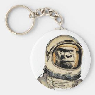 Space ape   Gorila espacial Raum-Affe Singe de l'e Keychain