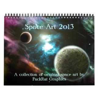 Space Art Calendars