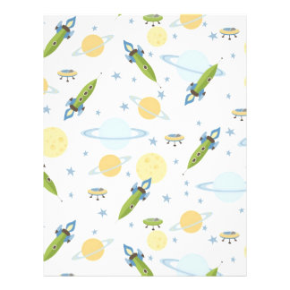 Space Baby Scrapbook Paper Dual-sided