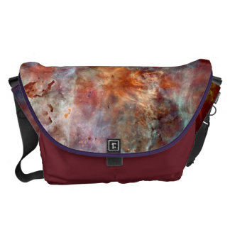 Space Bags Colourful Abstract Messenger Bags