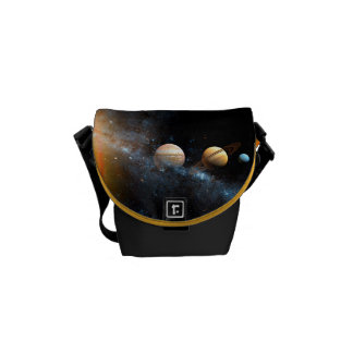 Space Bags Solar System Messenger Bags