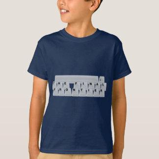 Space(bar) The Final Frontier T-Shirt