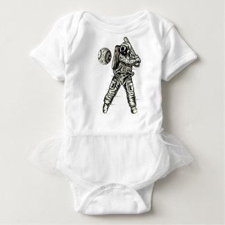 Space Baseball Baby Bodysuit