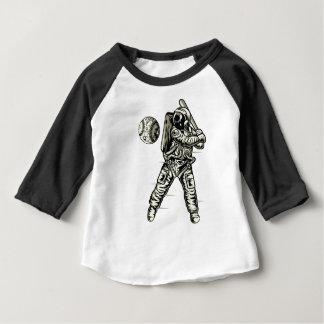 Space Baseball Baby T-Shirt