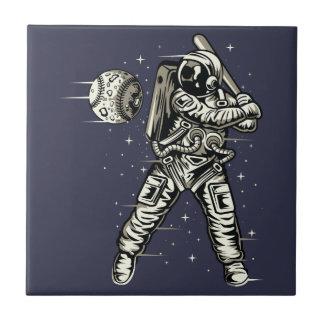 Space Baseball Tile