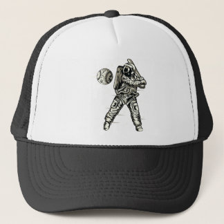Space Baseball Trucker Hat