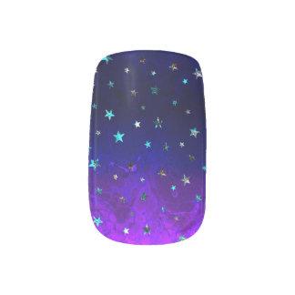 Space beautiful galaxy night starry  image minx nail art