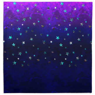 Space beautiful galaxy night starry  image napkin