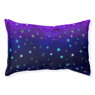 Space beautiful galaxy night starry  image pet bed