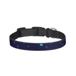 Space beautiful galaxy night starry  image pet collar