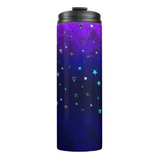 Space beautiful galaxy night starry  image thermal tumbler