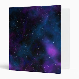 Space beautiful galaxy starry night image binder