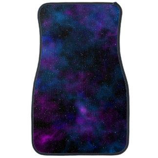 Space beautiful galaxy starry night image car mat