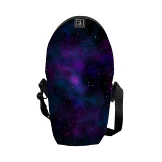 Space beautiful galaxy starry night image courier bags