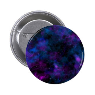Space beautiful night sky image 2 inch round button