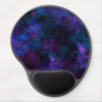 Space beautiful night sky image gel mouse pad