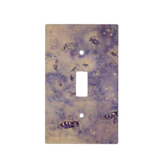 Space Bees Light Switch Cover