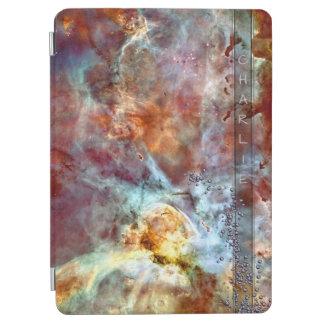 Space Bling Monogram iPad Air Cover