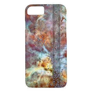Space Bling Monogram iPhone 8/7 Case