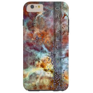 Space Bling Monogram Tough iPhone 6 Plus Case