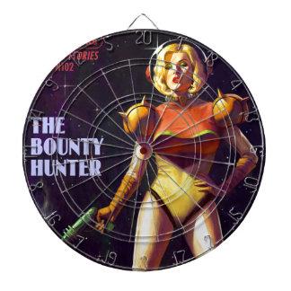 Space Bounty Hunter Dartboard