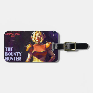 Space Bounty Hunter Luggage Tag