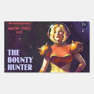 Space Bounty Hunter Sticker