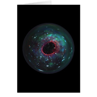 Space Bubble Marble Card