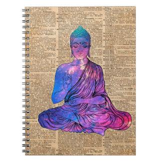 Space Buddha Dictionary Art Notebooks
