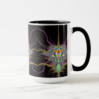 Space Bug Fractal Mug II