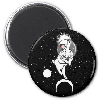SPACE BUN 2 INCH ROUND MAGNET