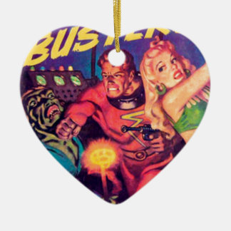 Space Busters Ceramic Ornament