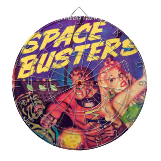 Space Busters Dartboard