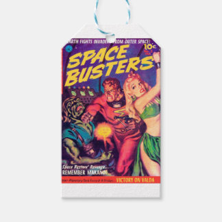 Space Busters Gift Tags