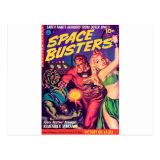 Space Busters Postcard