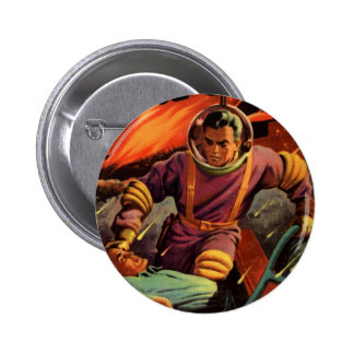 Space Cadet 2 Inch Round Button