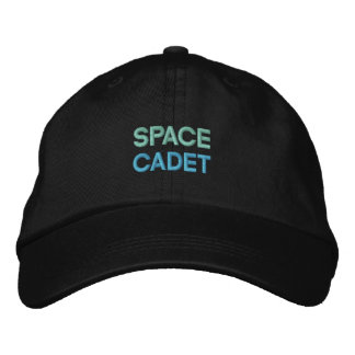 SPACE CADET cap Embroidered Baseball Caps