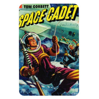 Space Cadet Comic Magnet