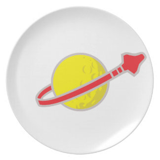 Space Cadet Plate